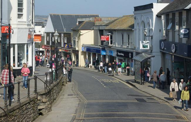 Penzance is through to the next round of a £25million high street bid. Stock photo: Richard Penn