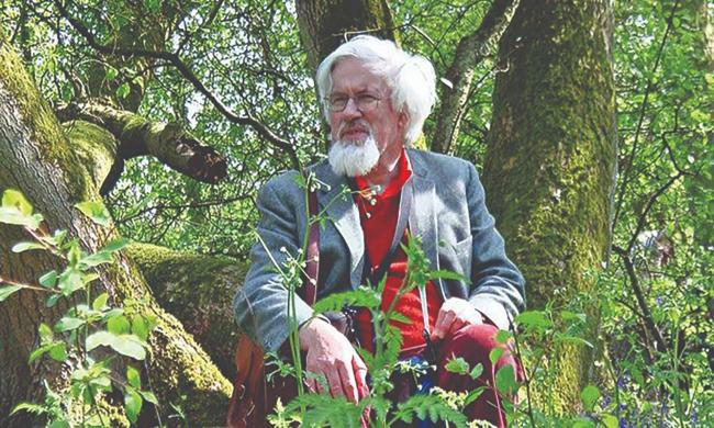 The late Oliver Rackham, whose work The Ancient Woods of the Helford River will be published