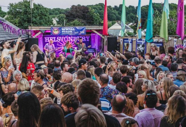 Helstonbury music festival returns next weekend. Photo: Jake Riding
