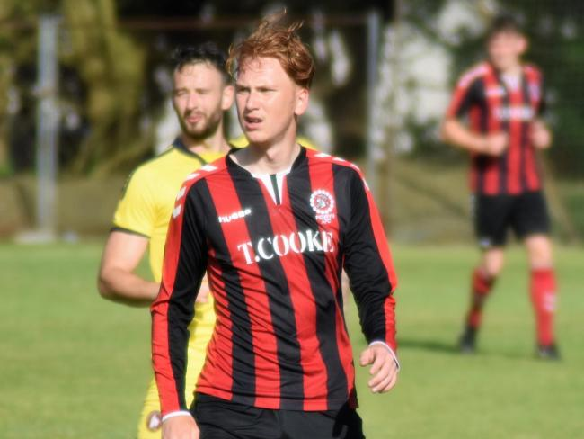 Jack Rapsey scored the winner in Penryn Athletic's first game