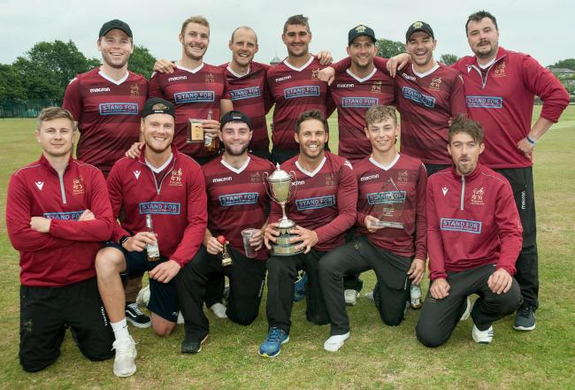 Penzance beat Falmouth to lift the Vinter Cup last week. Picture by Colin Higgs