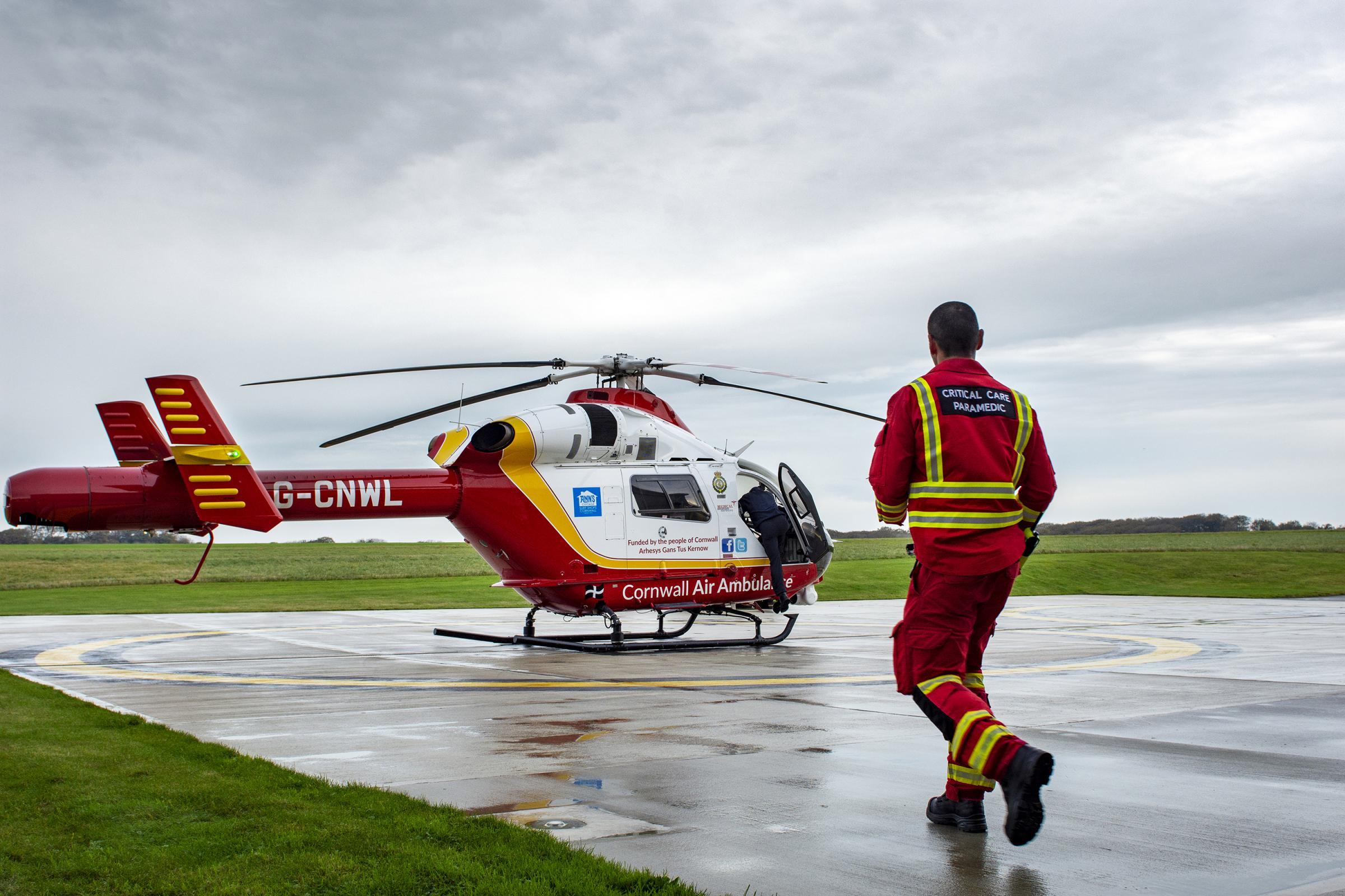 £1.4million boost for Cornwall Air Ambulance