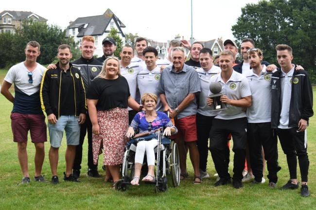 Porthleven lift the Dave Gardner Memorial Tournament trophy
