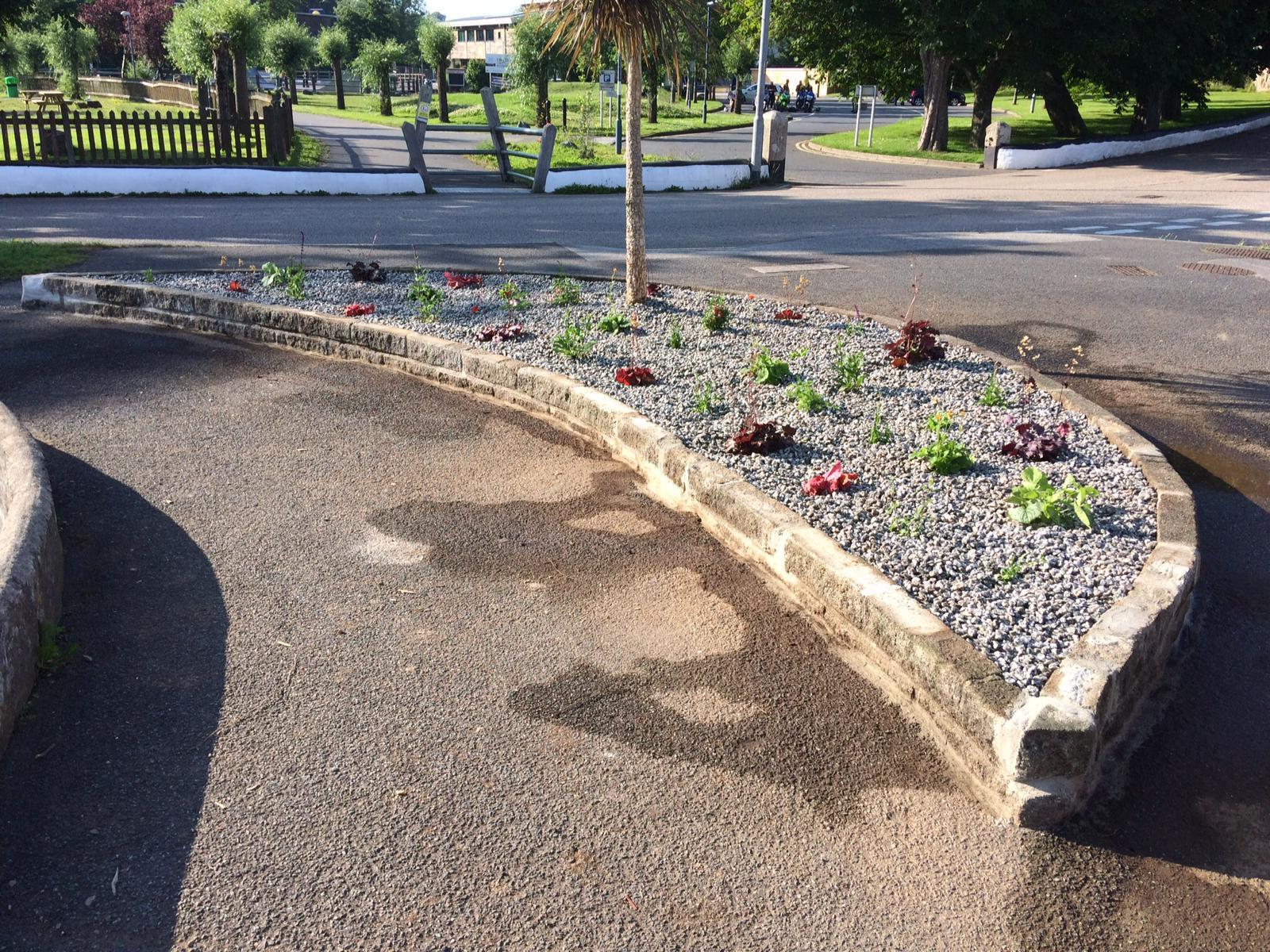 Garth and Brenda Pascoe restore overgrown area of Helston
