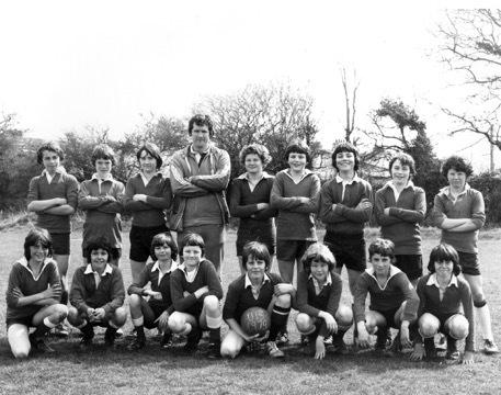 This week's picture is of Falmouth School's second year football team