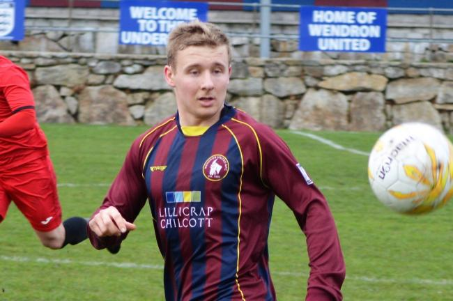 TJ Walter scored as Wendron United drew 2-2 at Penzance