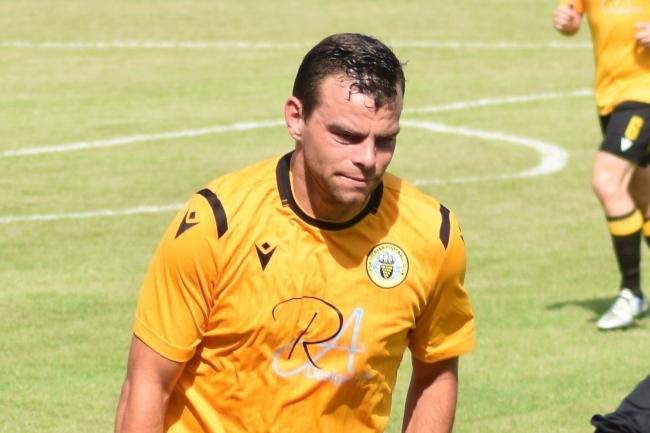 Dan Stidwell scored twice for Porthleven in their 4-1 win at Wadebridge Town