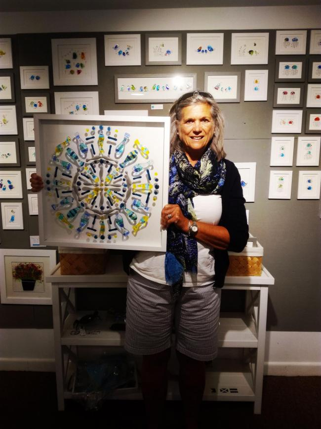 Sweet Tweet Takeaway - Artist raises funds for diabetes research in Falmouth