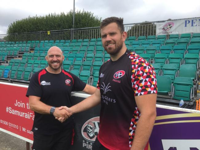 Will Norton has joined the Cornish Pirates on a dual registration deal with Exeter Chiefs this season. Picture: Phil Westren