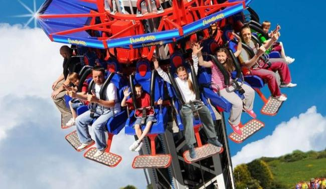 Flambards in Helston is in the running for 'Best for thrills'