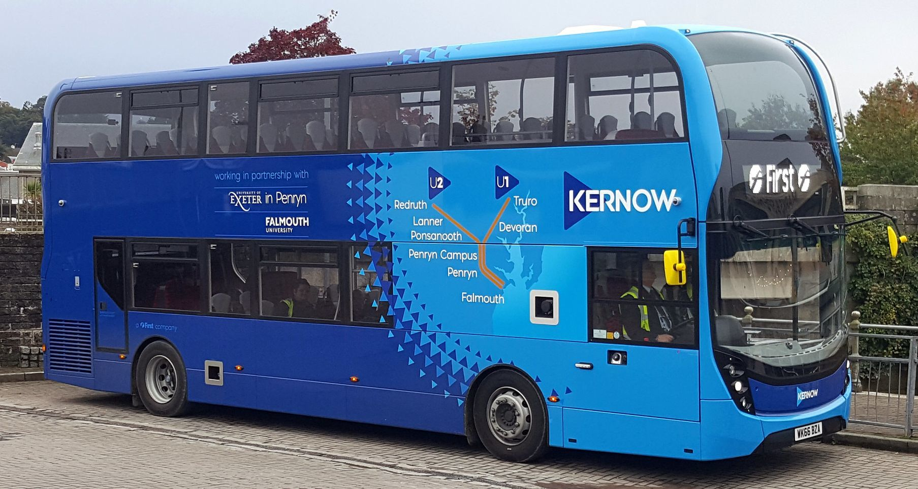 First Bus scraps Falmouth university campus £1 bus fare