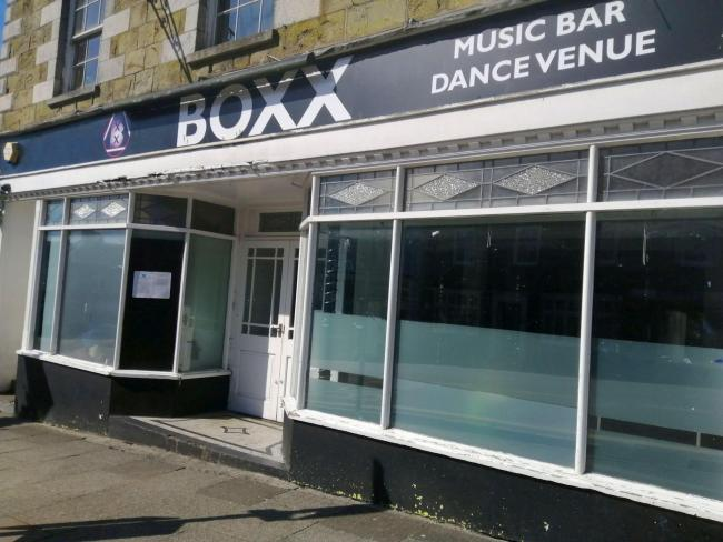Boxx announced its closure in Coinagehall Street yesterday