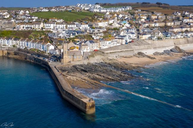 Stock image of Porthleven by Chris Colyer