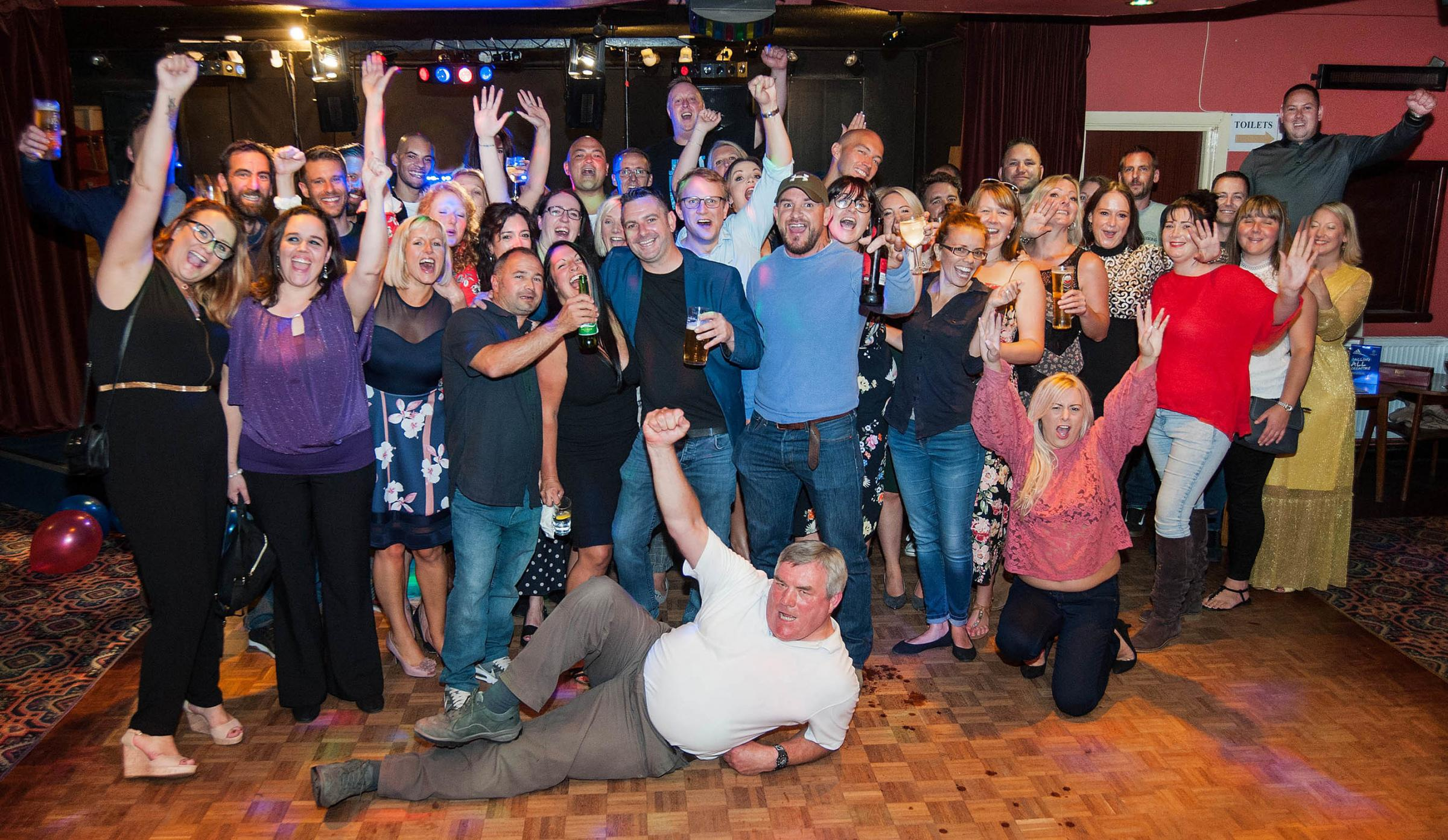 School reunion raised funds for Man Down charity