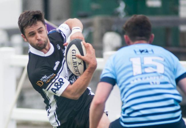 Despite the defeat, Falmouth were able to secure a losing bonus point. Picture by Colin Higgs