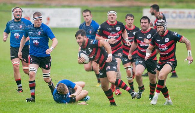 Penryn lost 6-12 at home to Teignmouth on Saturday. Picture by Colin Higgs