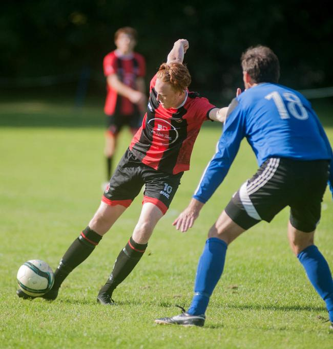 Penryn Athletic's Jack Rapsey. Picture by Colin Higgs