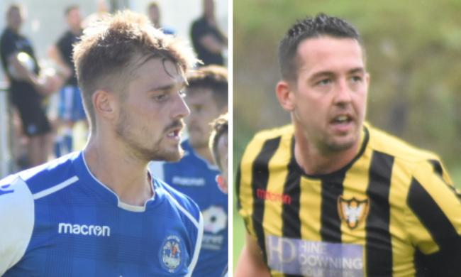 Helston Athletic and Falmouth Town were both involved in Friday's draw