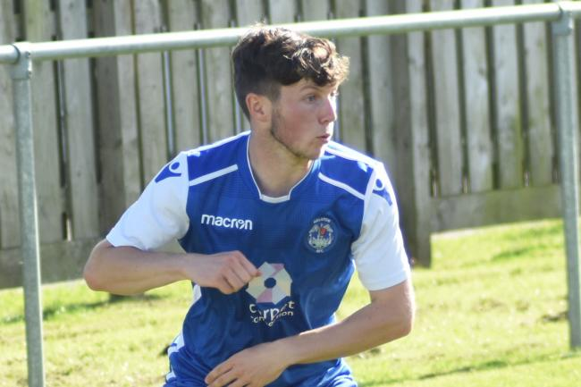 Alfie Flack scored his sixth goal of the season in Helston Athletic's 5-3 win at Wadebridge Town