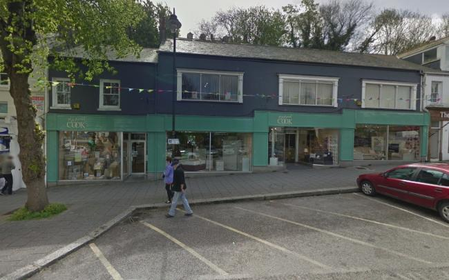 Richard Cook in Falmouth before it closed. Picture: Google