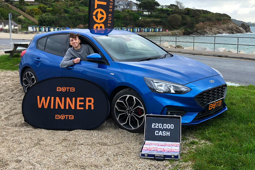 Falmouth teen wins dream car competition