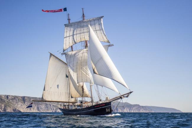 Wylde Swan is heading to Falmouth