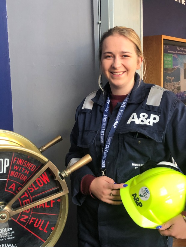 A&P Falmouth appoint Rebecca Kitts as apprentice