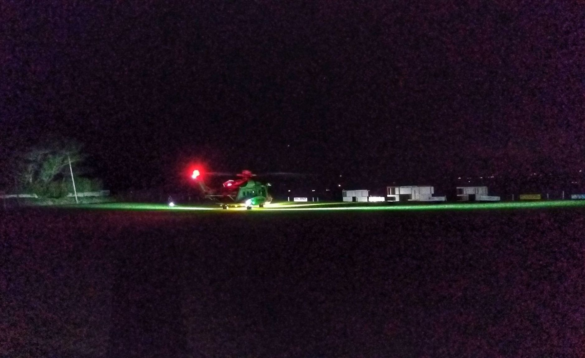 Man injured by firework in Cornwall - airlifted from Mullion