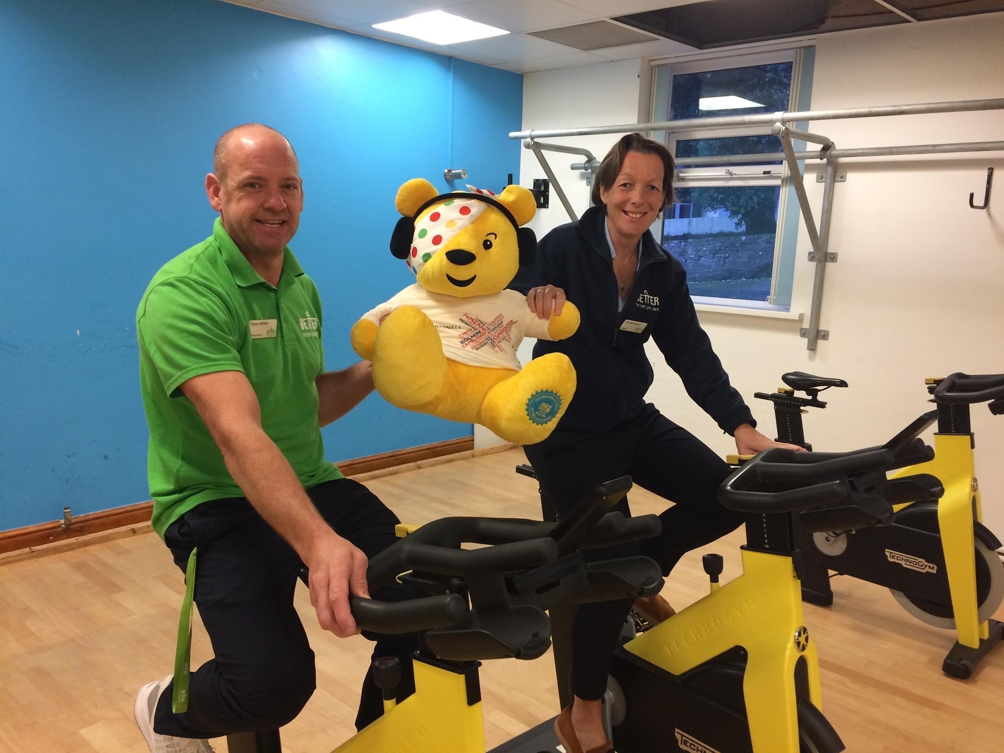 BBC Children in Need's Pedal for Pudsey