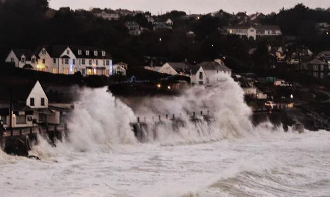 Coverack yesterday, picture by Caroline Burton