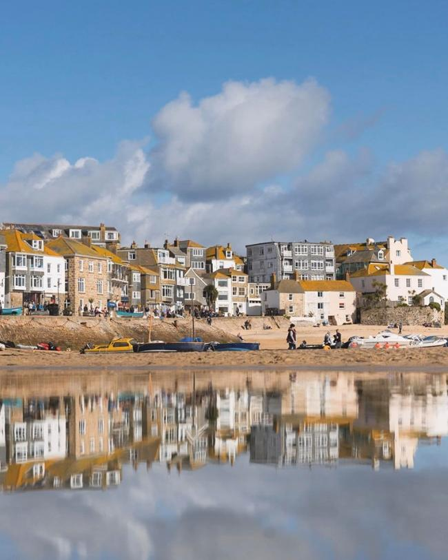 File picture of St Ives by Lee Stephens