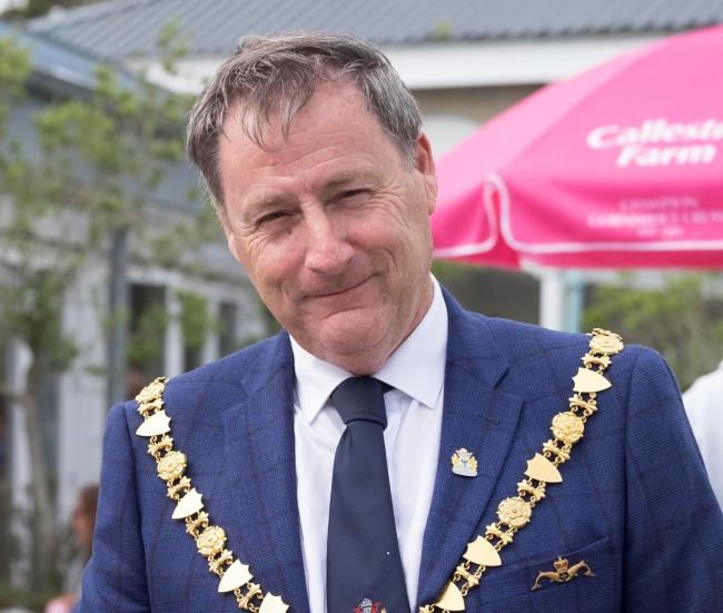 Steve Eva, Falmouth's mayor, has quit the Liberal Democrats. File picture by Exposure Photo Agency 30th August 2019