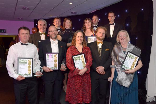 The winners of the 2019 South West Farmer Awards