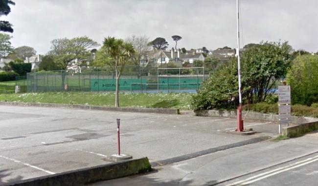 St Michael's Resort had hoped to build a coaching centre next to the Gyllyngvase Tennis Courts