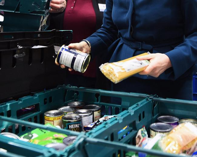 Food bank statistics have been revealed