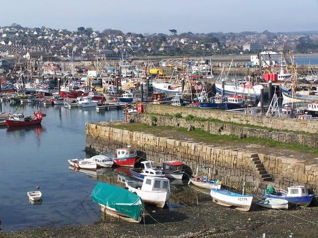 The man died in an incident at Newlyn Harbour. File image: David Martin