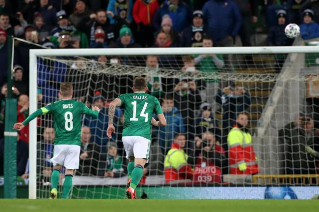 Steven Davis missed a penalty as Northern Ireland were held by Holland