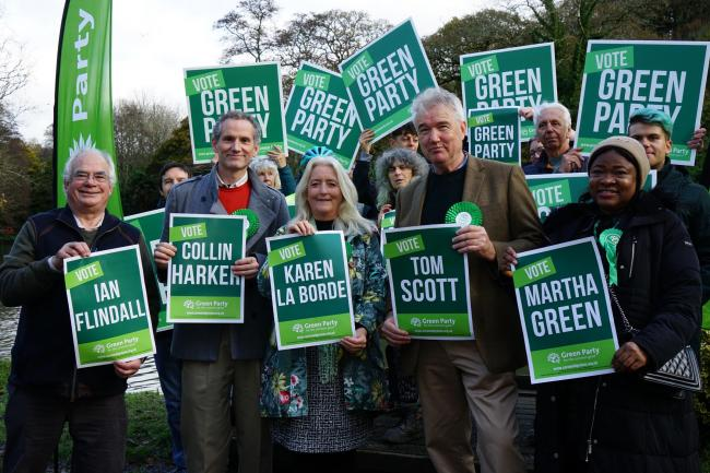 Cornwall's Green Party candidates