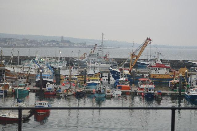 The incident took place at Newlyn Harbour. File image: N Chadwick
