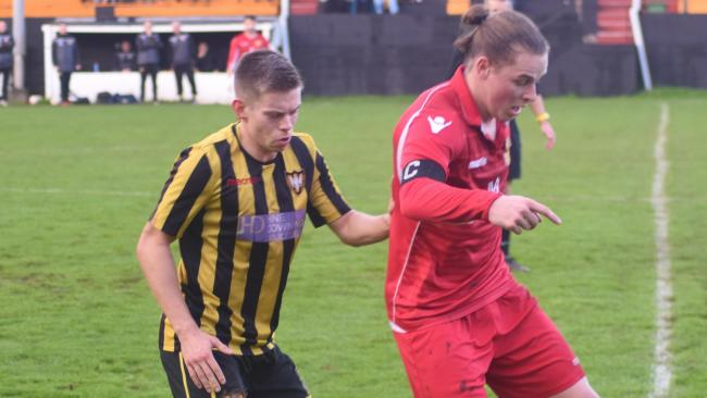 Falmouth Town suffered defeat despite leading twice