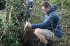 Tree planting at the Penryn Campus. Picture: University of Exeter