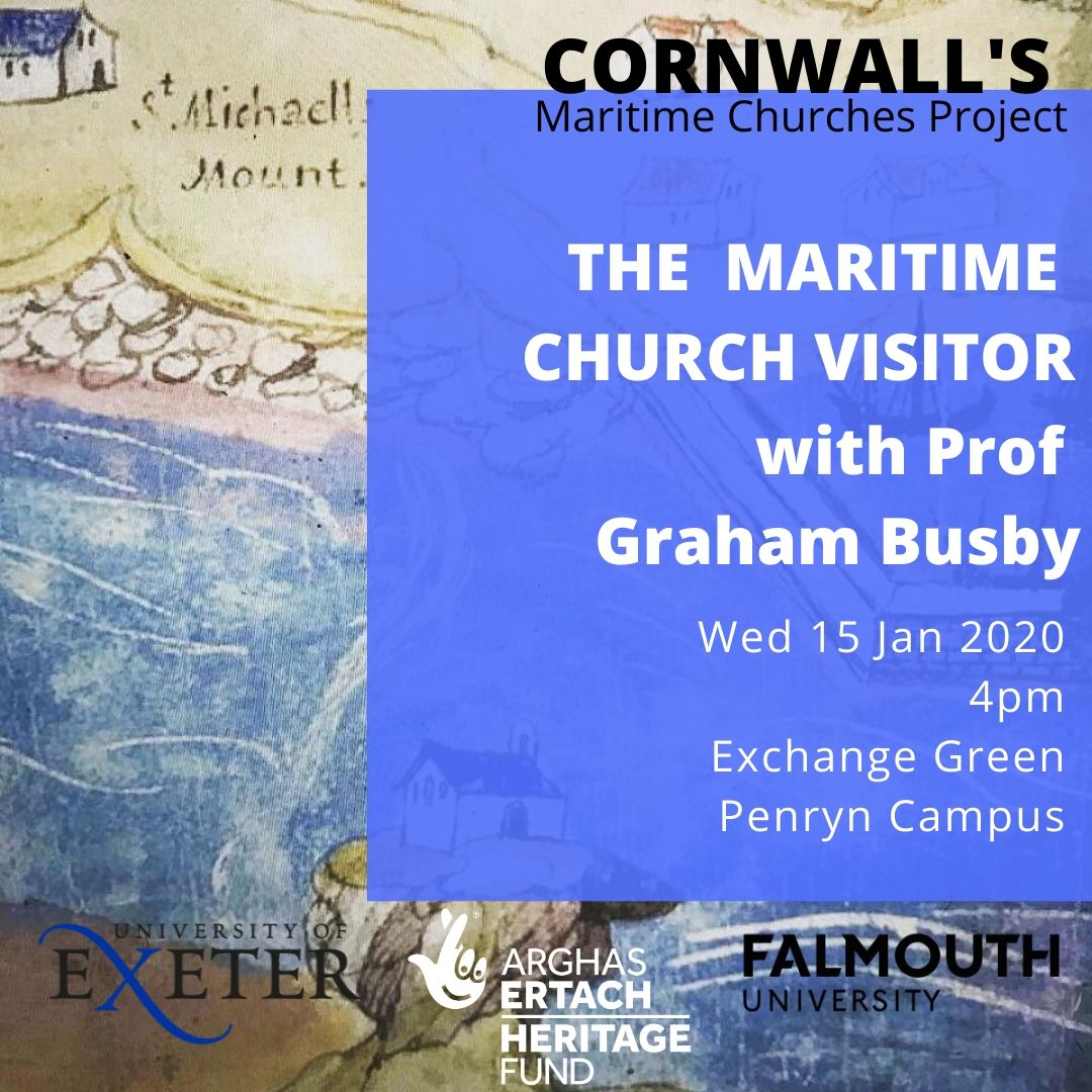 Maritime Churches with Prof Graham Busby