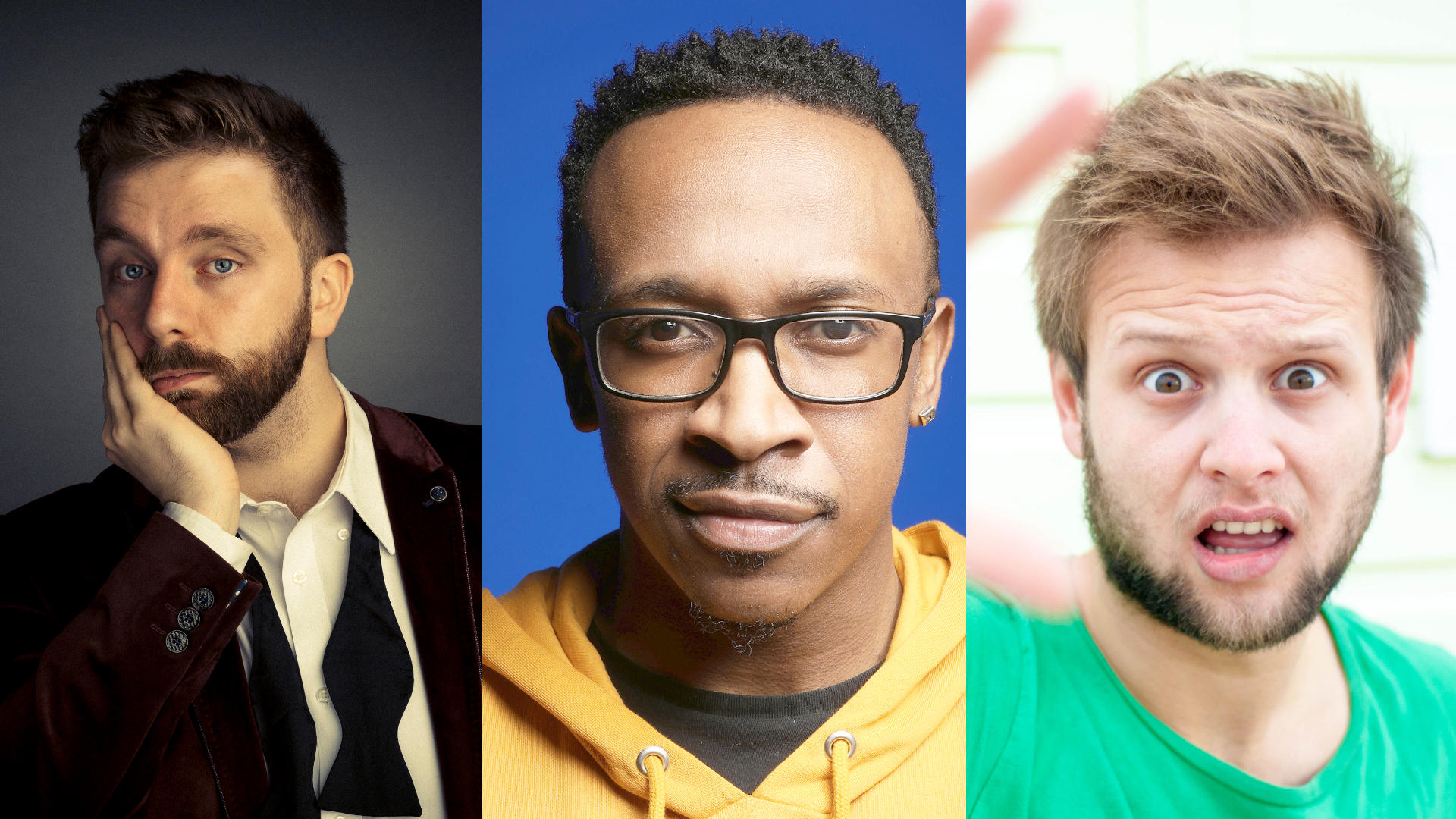Comedy Club: Pierre Novellie, Travis Jay and Tom Glover