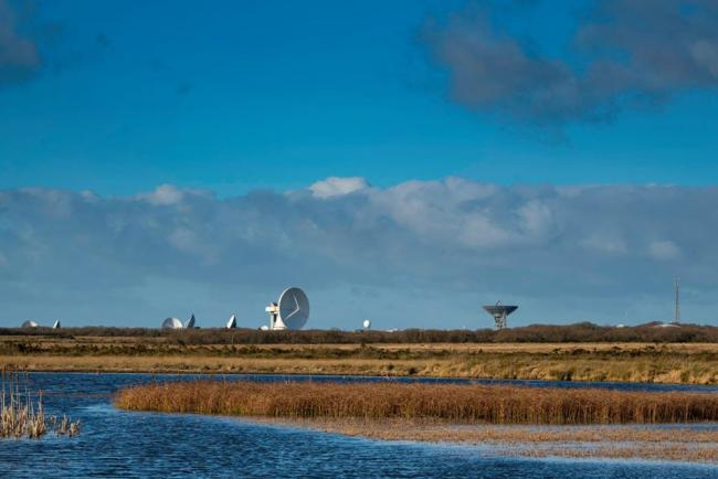 Great day at Goonhilly, by Steve Brickstock