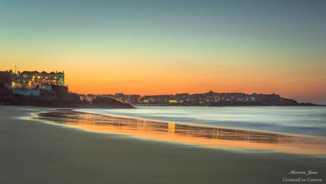 St Ives sunset, by Marcus Jose