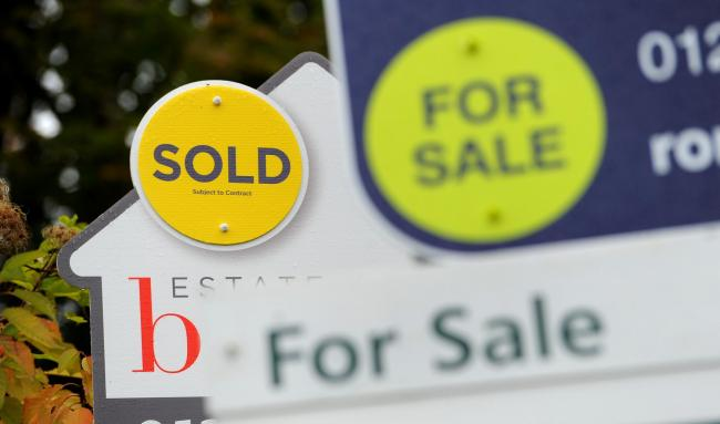 House prices in Cornwall saw a slight rise in March