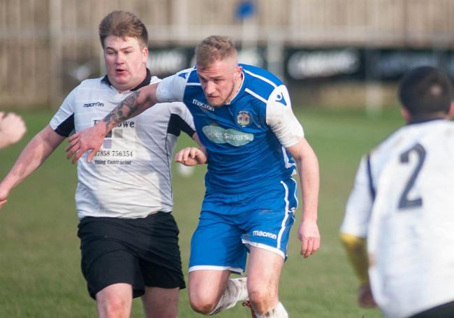 Joe Wright scored 21 goals for Helston Athletic reserves last season. Picture by Colin Higgs