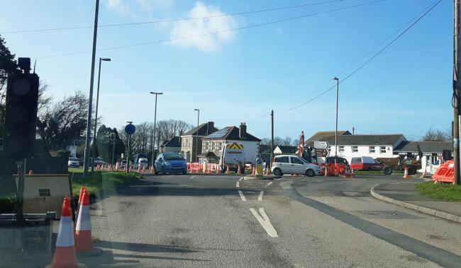 The roadworks at Turnpike have been extended