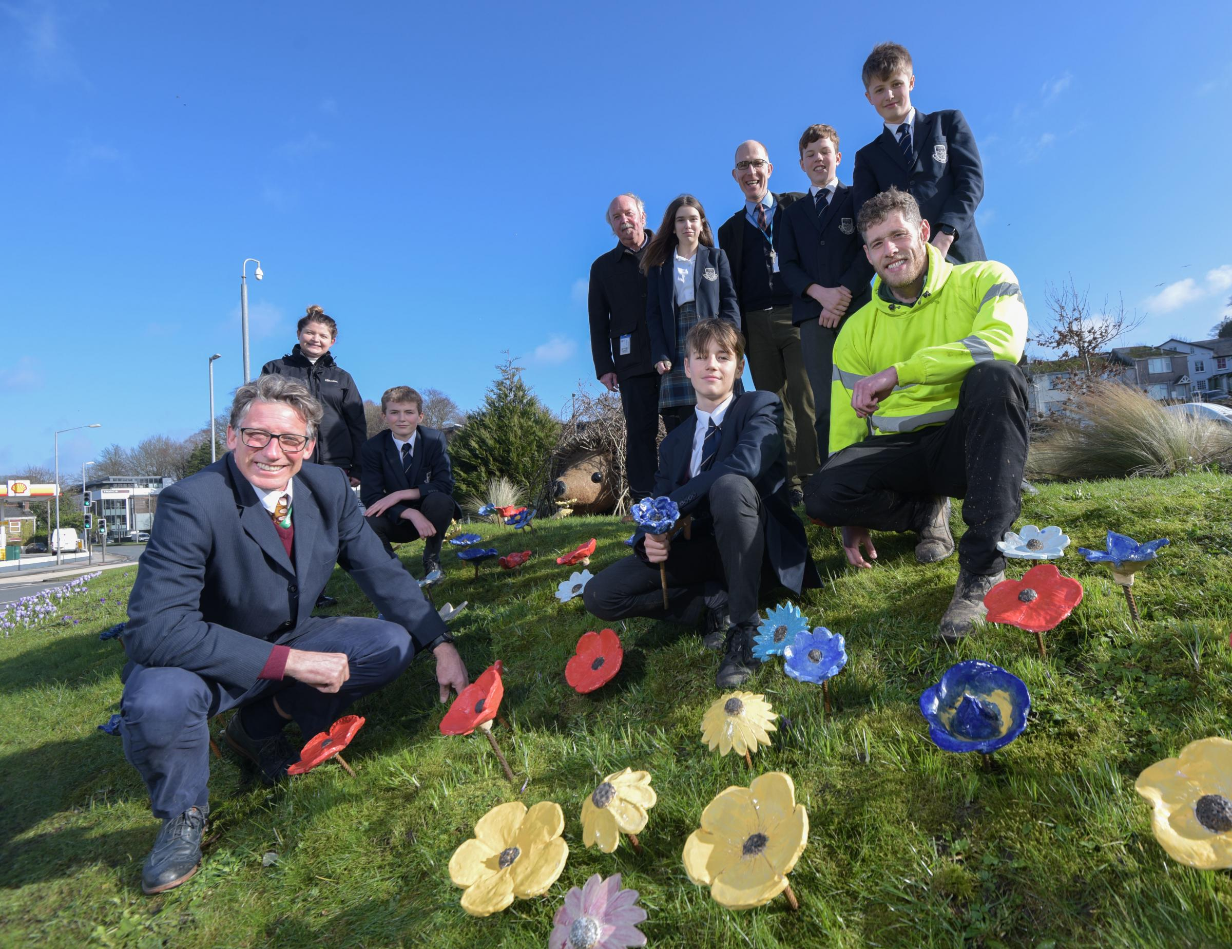 'Roundabout of the Year' welcomes explosion of colour