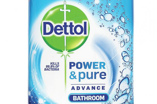 A pack of Dettol wipes